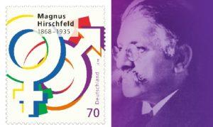 Hirschfeld-Briefmarke