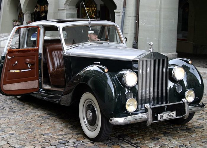 Rolls Roys Silverdawn (Baujahr 1953)