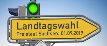 Sachsen Wahl