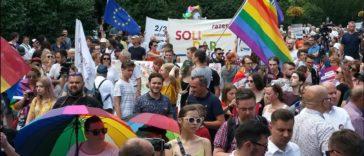 Solidarität mit LGBTIQ
