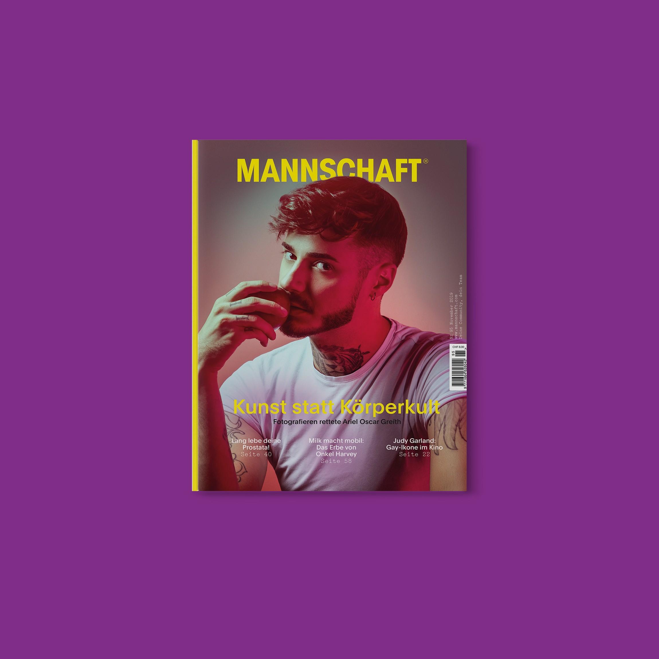 Das bringt die November-Ausgabe der MANNSCHAFT!