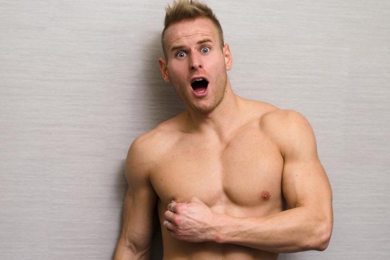 Brustwarze männliche Brustwarzen Schmerzen