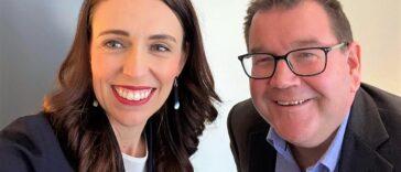 Jacinda Ardern und Grant Robertson